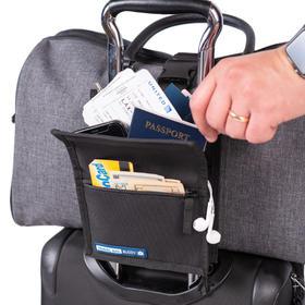 多功能旅行箱收纳包 行李箱伴侣行李包防水捆绑防滑落防掉防盗刷卡包证件包