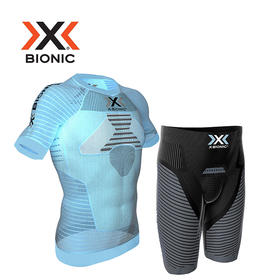 X-BIONIC效能系列男女款运动跑步压缩衣裤短袖套装