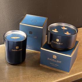 北欧进口轻奢创意香薰蜡烛餐桌装饰卧室客厅香氛摆件