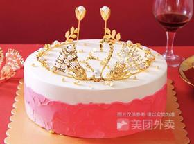 【七夕表白·限时秒杀】爱上御姐·表白主题生日蛋糕