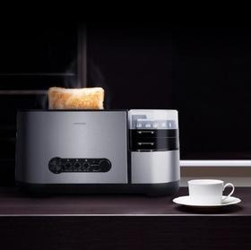 【面包机】nathome/北欧欧慕 NDS12 烤面包机多士炉面包机家用早餐机吐司机