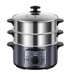 【电蒸锅】美的Midea MZ-ZG26Easy401多用途锅电蒸锅电煮锅电热锅 三层