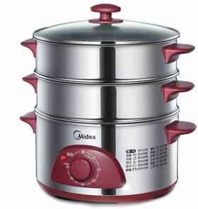 【电蒸锅】Midea/美的 WSYH26A电蒸锅不锈钢多功能电蒸锅大容量电蒸笼