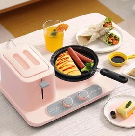 【面包机】DL-3405多功能早餐机三合一多士炉吐司家用烤面包机