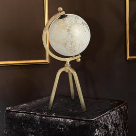 北欧进口轻奢地球仪摆件卧室客厅样板房创意软装饰品