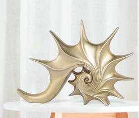 【装饰品】欧式风格海螺摆件