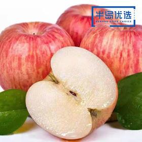 【山西运城红富士】山西红富士 红苹果甜苹果 原生态不打蜡 果中精品 脆甜多汁 果园直采 5斤包邮