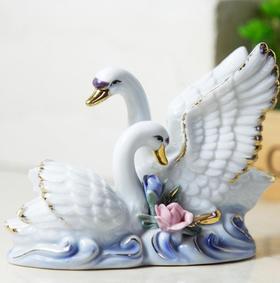 【装饰品】创意个性陶瓷小动物摆件