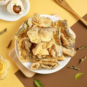 风靡香港新加坡 味BACK升级版咸蛋黄鱼皮 增40%咸蛋黄 咸香酥脆 50g*6