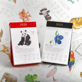 【别物志超多日历】果壳物种日历2020 原创网红创意手撕台历摆件精品礼物 可团购定制