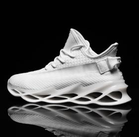 【跑步鞋】新款刀锋厚底外贸大码男鞋满天星椰子鞋休闲潮鞋运动鞋飞织跑步鞋
