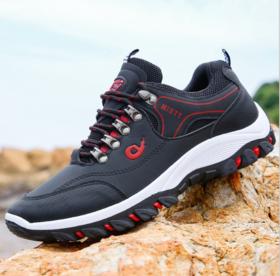 【登山鞋】秋季经典登山鞋韩版休闲鞋男士低帮网布透气运动鞋
