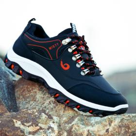 【登山鞋】秋季新款男士运动鞋防滑防水户外登山鞋徒步鞋男野外旅游鞋