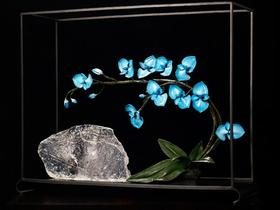 【装饰品】新中式客厅桌面铂晶艺术礼品摆设