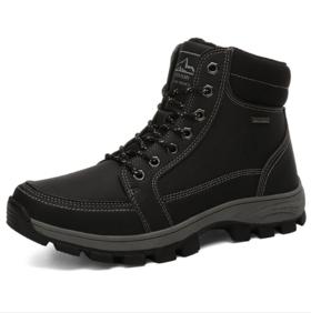 【登山鞋】欧美男士大码雪地靴登山鞋保暖减震防滑棉鞋
