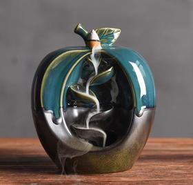 【装饰品】倒流香炉创意摆件水果摆件