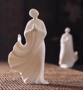 【装饰品】无相佛新中式陶瓷摆件