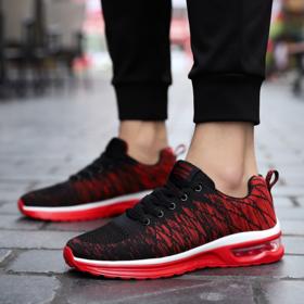 【跑步鞋】气垫鞋子男鞋运动夏季透气韩版潮流跑步款男士休闲鞋英伦百搭
