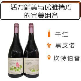2016年金字塔谷酒庄黑皮诺干红葡萄酒套装 Pyramid Valley Vineyards Angel Flower 2016 & Earth Smoke 2016