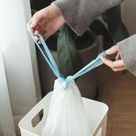 【便携手提 10kg承重】森活良物抽绳式手提垃圾袋 便携抽绳手提不脏手 加强更承重