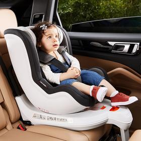 【网易】儿童汽车安全座椅 0-4岁可旋转加底座灰色【母婴亲子】