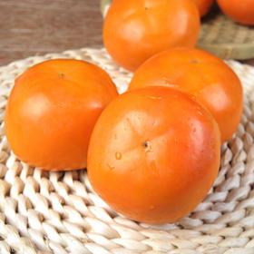 当季新品 | 陕西脆甜柿子 香甜可口 汁多味美 果肉鲜美 肉嫩爽口 5斤装