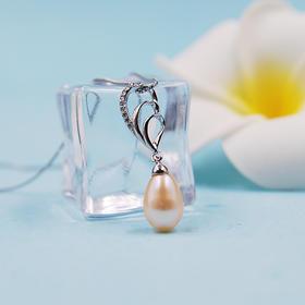 【半生缘】天然淡水珍珠吊坠(赠银链)