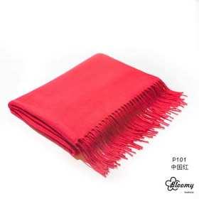 澳洲直邮Bloomy Australia羊毛羊绒围巾不扎脖纯色