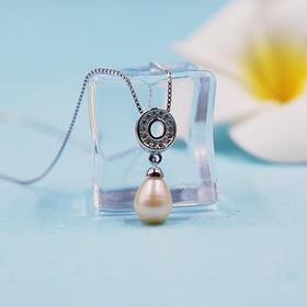 【随缘】天然淡水珍珠吊坠(赠银链)