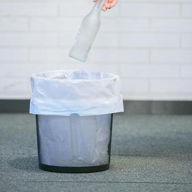 【网易】抽绳式垃圾袋超值组 15卷300只【个护清洁】