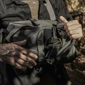 【打破常规的背负方式】德国塔虎战术快取单肩包