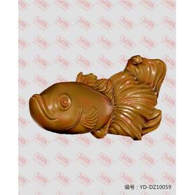 YD-DZ10059 金鱼 立体圆雕图