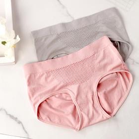 私下蜂窝暖宫蜂巢彩棉内裤   蜂窝腰头按摩颗粒,亲肤柔软3D提臀,提臀收腹暖宫