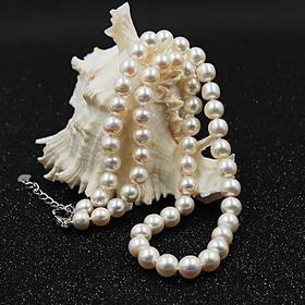 天然淡水珍珠项链 高贵典雅