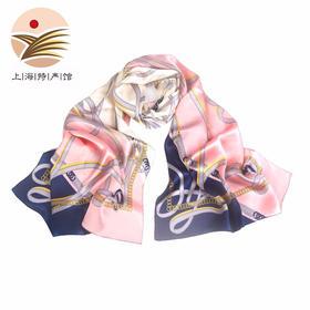 【上海馆】上海故事 欧美风系列 丝巾 桑蚕丝披肩围巾