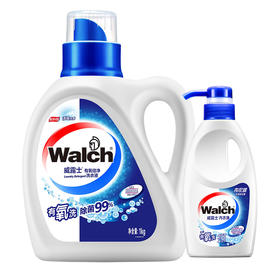 【威露士1kg+内衣净300g】威露士有氧洗洗衣液机洗手洗含消毒成份1kg装送内衣净1瓶