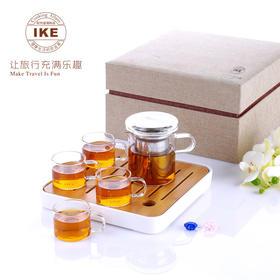 【精选】一柯 旅行茶具5件套YK-C608A【生活用品】