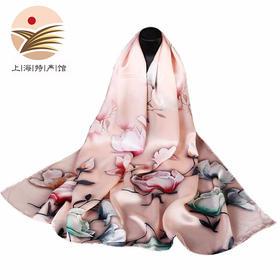【上海馆】上海故事 国色天香系列 丝巾