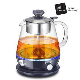 德国米技Miji新品家用煮茶器玻璃电烧水壶保温蒸汽泡茶HK K018