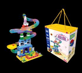 GESLLE德思徕翻滚积木轨道玩具