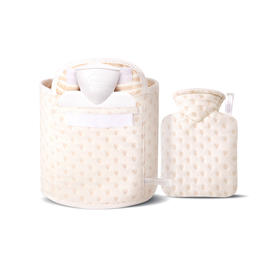 【萌宝款】德国HUGO FROSCH热水袋|德国原装进口|欧盟严苛认证|暖手袋护腰两用