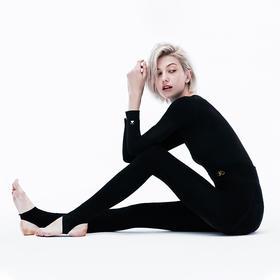 【为思礼】珂宣尼2019秋冬新款BMI抽脂袜 1900D加绒提臀塑形燃脂 踩脚美腿保暖裤袜 贴合皮肤不勒肉 保暖打底裤
