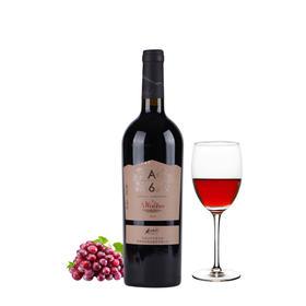 香格里拉红酒 高原A6 干红葡萄酒 750ML 云南特产高原年货礼品