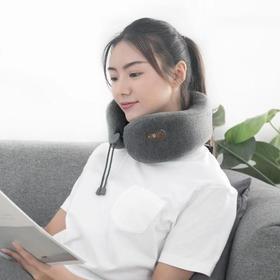 【乐范按摩颈枕】高科技+专利技术,5分钟即可入眠,便携收纳只有巴掌大