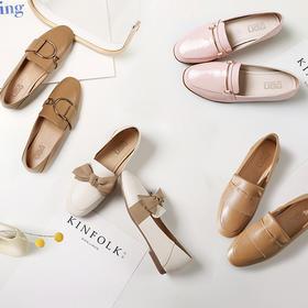 澳洲原产UGG平底乐福鞋