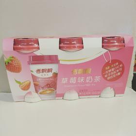 香飘飘草莓味奶茶80gX3