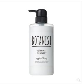日本 BOTANIST/植物学家 无硅护发素 黑色滋润  490ml