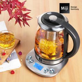 Miji德国米技多功能家用养生壶玻璃电煮茶壶1700ML大容量HP-01