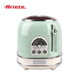 Ariete/阿里亚特烤面包机家用全自动早餐机多士炉(155)绿色