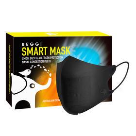 JTN新西兰BEGGI智能温控口罩抗寒V脸口罩 防尘透气 防毒气雾霾面罩 1盒/5个